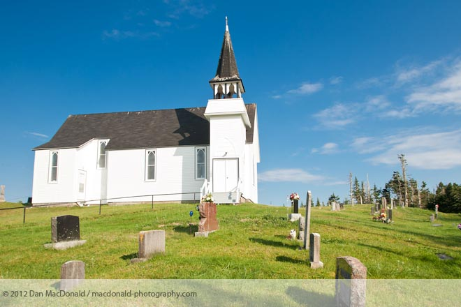 St. Mary's Church and Cemetery, Harrigan Cove, NS